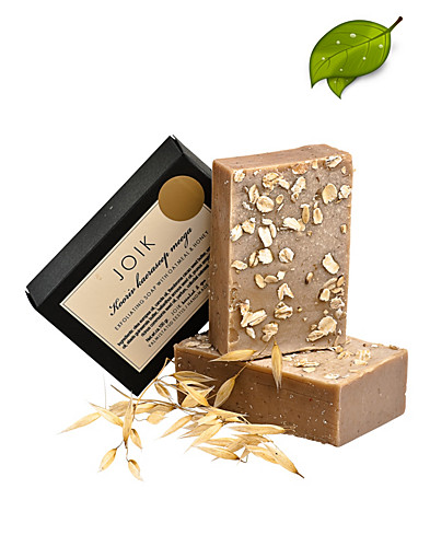 LICHAAMSVERZORGING - JOIK / EXFOLIATING OATMEAL & HONEY SOAP - NELLY.COM