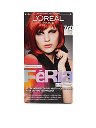 L'Oréal Feria Permanent Hair Color 7,6