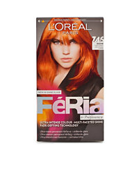 L'Oréal Feria Permanent Hair Color 7,46