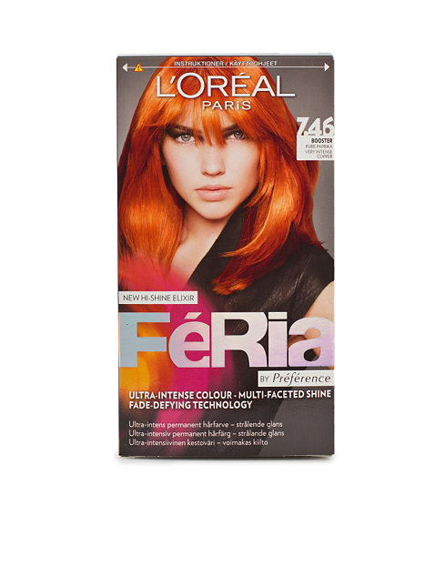 Permanent Hair Color 7,46