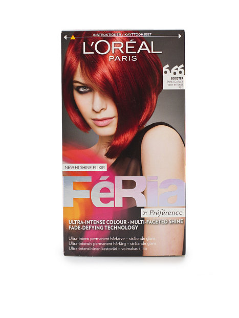 Permanent Hair Color 6,66
