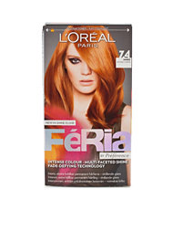 L'Oréal Feria Permanent Hair Color 7,40