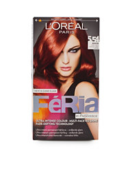 L'Oréal Feria Hair Color 5,54