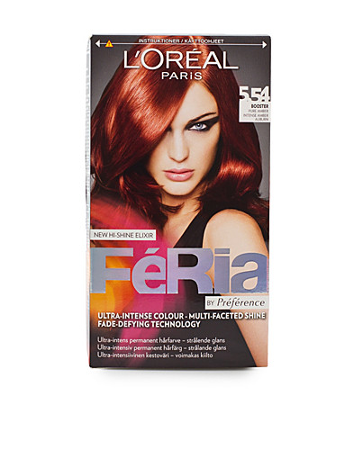 HAIR COLOUR - L'ORÉAL FERIA / HAIR COLOR 5,54 - NELLY.COM