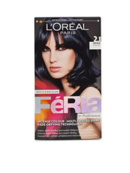 L'Oréal Feria Permanent Hair Color 2,1
