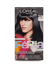 L'Oréal Feria Permanent Hair Color 2,01