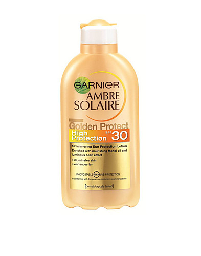 AURINKOTUOTTEET - AMBRE SOLAIRE / GOLDEN PROTECT MILK SPF30 - NELLY.COM