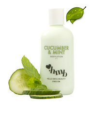 Hello Miss Beauty by Nelly Cucumber & Mint Body Lotion