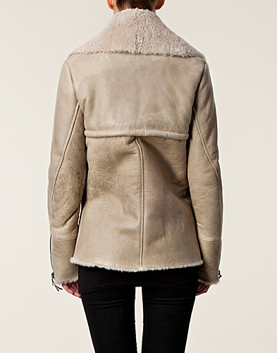 JACKETS AND COATS - C'N'C / MARIJA LEATHER JACKET - NELLY.COM