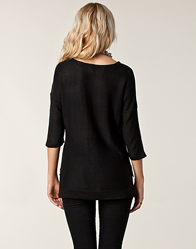 TRÖJOR - VILA / CATA KNIT TOP - NELLY.COM