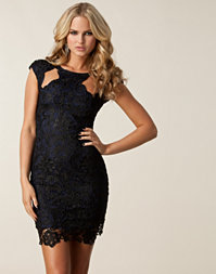Rebecca Stella For Nelly - Cut Out Lace Dress