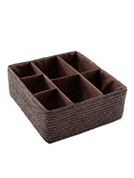 Cosmetic Organizer Chocolate Drawer 35x32xH.14 Cm