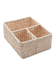 Cosmetic Organizer Natural Drawer 32x25xH.14 Cm