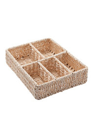 Cosmetic Organizer Natural Drawer 32x25xH.8 Cm