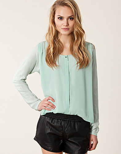BLOUSES & SHIRTS - SELECTED FEMME / BRITA SHIRT - NELLY.COM