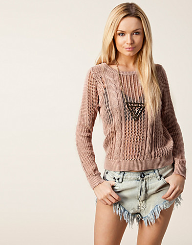 TRÖJOR - SELECTED FEMME / NANNIE LS KNIT PULLOVER - NELLY.COM
