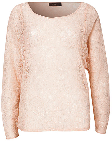 TOPPAR - SELECTED FEMME / MILDA L/S TOP - NELLY.COM