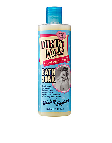 KROPPSVÅRD - DIRTY WORKS / THINK OF ENGLAND BATH SOAK - NELLY.COM