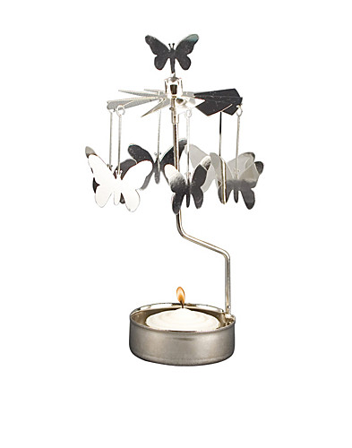 BEAUTY @ HOME - PLUTO / ROTARY CANDLEHOLDER BUTTERFLY - NELLY.COM