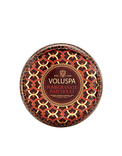 BEAUTY @ HOME - VOLUSPA / POMEGRANATE PATCHOULI 2-WICK METALLO - NELLY.COM