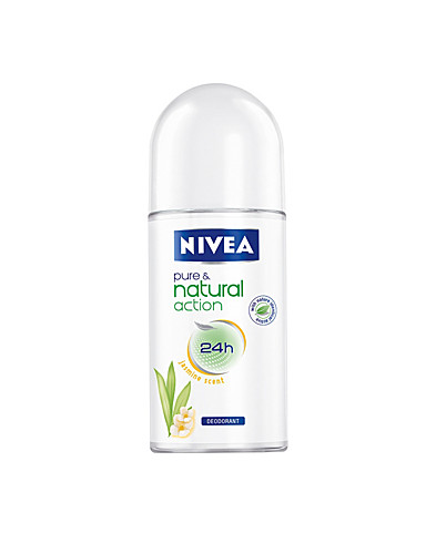 KROPPSVÅRD - NIVEA / PURE & NATURAL JASMINE ROLL-ON - NELLY.COM