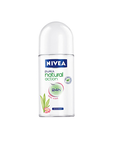 KROPPSVÅRD - NIVEA / PURE & NATURAL LOTUS ROLL-ON - NELLY.COM