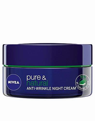 FACIAL CARE - NIVEA / PURE & NATURAL ANTI-WRINKLE NIGHT CARE - NELLY.COM