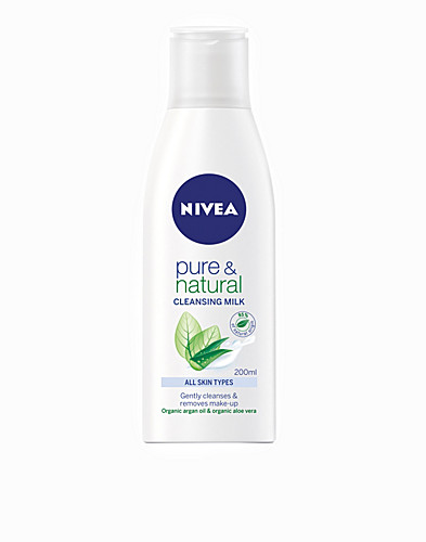 FACIAL CARE - NIVEA / PURE & NATURAL CLEANSING MILK - NELLY.COM