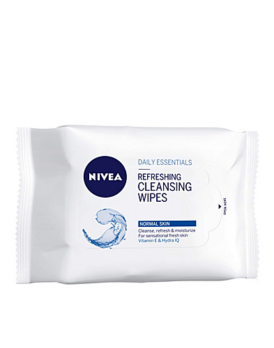 FACIAL CARE - NIVEA / REFRESHING CLEANSING WIPES - NELLY.COM