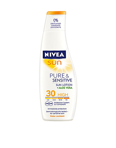 SUN CARE & TANNING - NIVEA / PURE & SENSITIVE LOTION SPF30 - NELLY.COM
