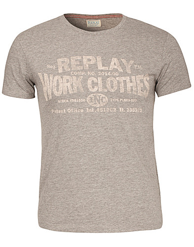 T-SHIRTS - REPLAY / BILL T-SHIRT - NELLY.COM