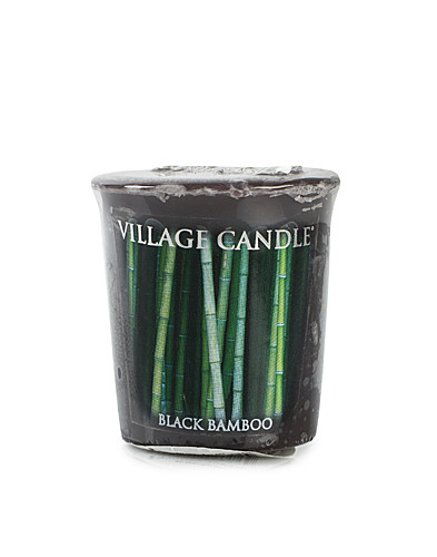 BEAUTY @ HOME - VILLAGE CANDLE / BLACK BAMBOO VOTIVE - NELLY.COM
