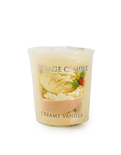 BEAUTY @ HOME - VILLAGE CANDLE / CREAMY VANILLA VOTIVE - NELLY.COM