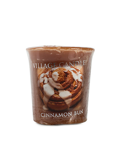 BEAUTY @ HOME - VILLAGE CANDLE / CINNAMON BUN VOTIVE - NELLY.COM