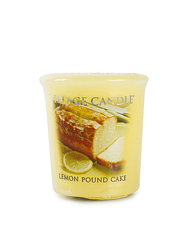 BEAUTY @ HOME - VILLAGE CANDLE / LEMON POUND CAKE VOTIVE - NELLY.COM