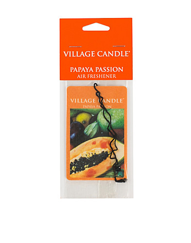 BEAUTY @ HOME - VILLAGE CANDLE / PAPAYA PASSION PILLAR - NELLY.COM