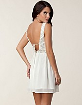 MELANIE OPEN BACK DRESS