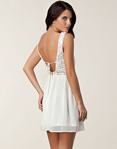 FESTKLÄNNINGAR - ELISE RYAN / MELANIE OPEN BACK DRESS - NELLY.COM