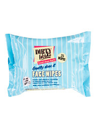 Dirty Works Gently Does It Facial Wipes