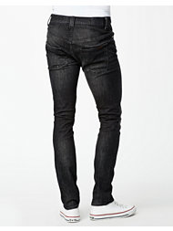 Nudie Jeans Tape Ted Org Black Briquette
