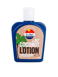 Le Tan Coconut Lotion Spf 50+