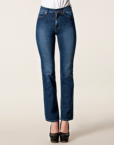 JEANS - ÖRJAN ANDERSSON / WIDE SLIM DENIM BLUE DARK JEANS - NELLY.COM