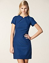 LEAH CUPRO COTTON TWILL DRESS