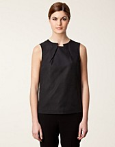 LEAHANNA CUPRO COTTON TWILL TOP