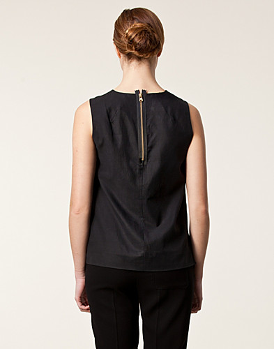 TOPPAR - J LINDEBERG / LEAHANNA CUPRO COTTON TWILL TOP - NELLY.COM