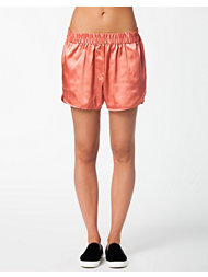 J Lindeberg Norah Silk Satinelle Stretch Shorts