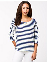 Dr Denim Blair Stripe Tee