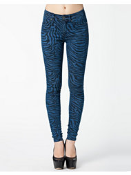 Dr Denim Plenty Zebra Print
