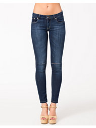 D Brand Slim Fit Ripped Jeans