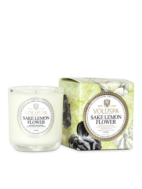 Sake Lemon Flower Classic Votive Candle